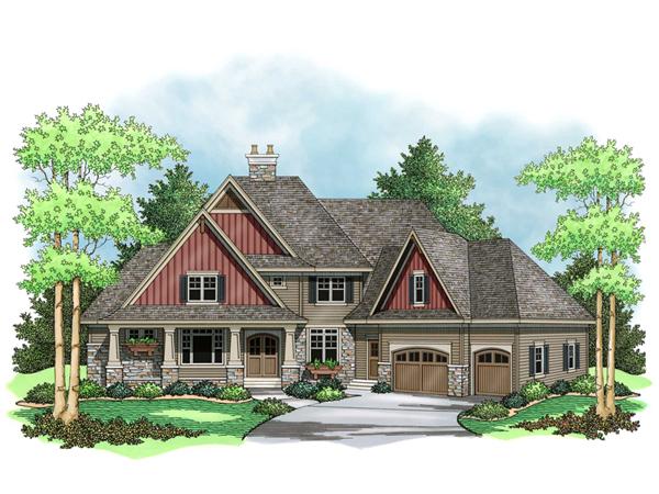 Vandover Place European Home Plan 091d 0505 House Plans