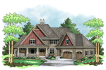 European Style Radiates From This Craftsman Home