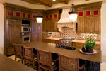 Luxury House Plan Kitchen Photo 02 - 091S-0001 | House Plans and More