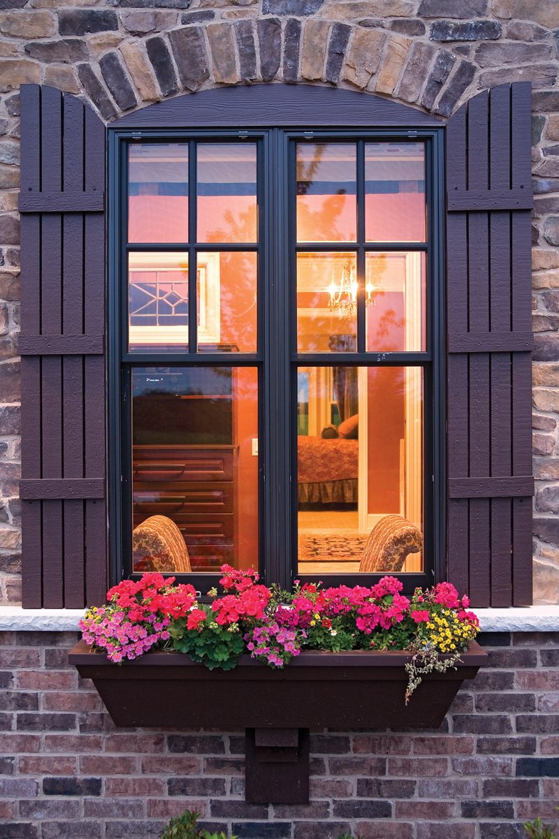 Luxury House Plan Window Detail Photo - 091S-0001 | House Plans and More