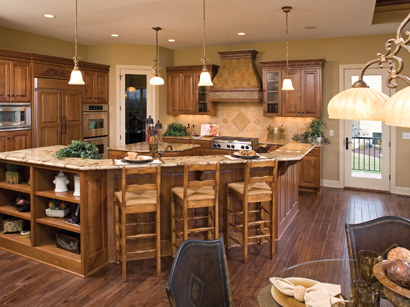 Arts and Crafts House Plan Kitchen Photo 01 - 091S-0002 | House Plans and More