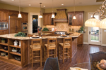 Contemporary House Plan Kitchen Photo 01 - 091S-0002 | House Plans and More