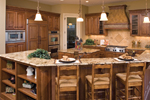 Craftsman House Plan Kitchen Photo 02 - 091S-0002 | House Plans and More