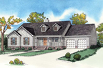 Traditional Ranch Home With Country Flavor