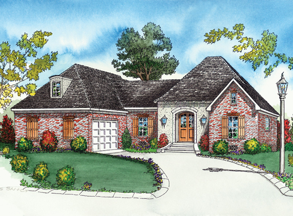 Amberly Creek Old World Home Plan 092d 0040 House Plans