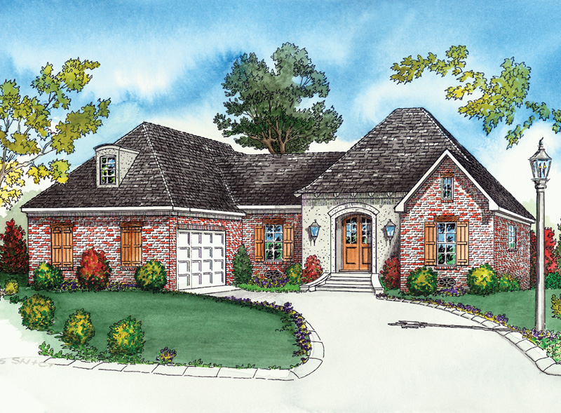 Amberly Creek Old World Home Plan 092D-0040 | House Plans and More