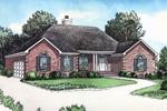 Brick Exterior Adorns This Beautiful Ranch Home
