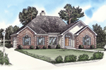 Traditional Style Home Has Country French Influence