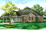 Traditional Ranch Home Has Easy Access Carport