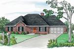 Stylish Brick Ranch Home Fits Into Neighborhood