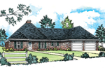 Traditional Brick Ranch Has Timeless Style And Appeal