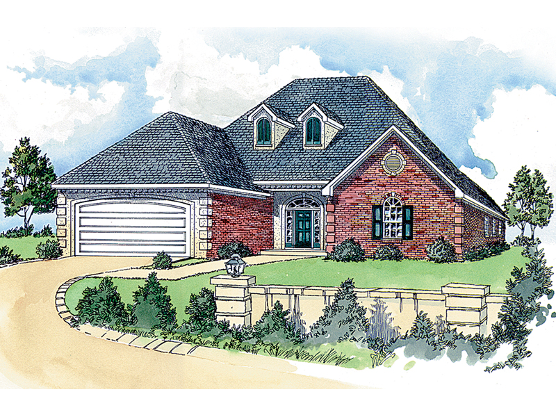 Abenberg traditional home plan 092d 0119 house plans and for 2 story house plans with dormers