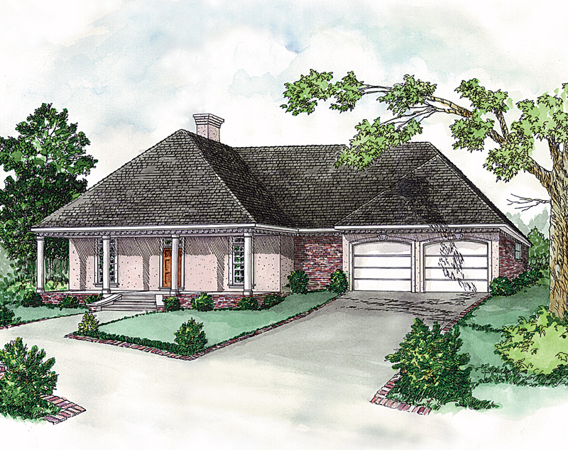 Simple, Yet Elegant European Ranch Style Home