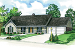 Ranch Style Home Has Casual Country Charm