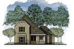 Two-Story Home Has Gambrel Style Roof For A Craftsman Touch