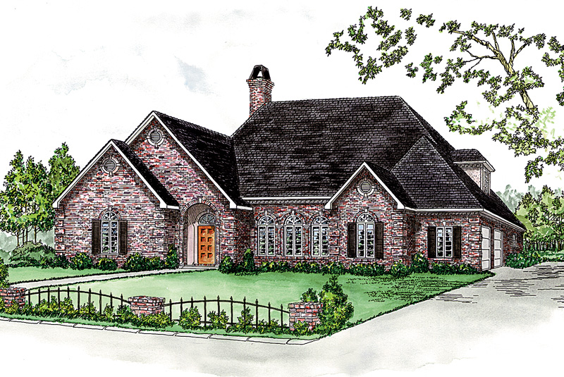 Great Two-Story Home With Brick Exterior