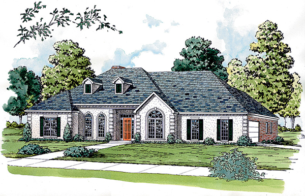Mescalero cove sunbelt home plan 092d 0214 house plans for Sunbelt homes