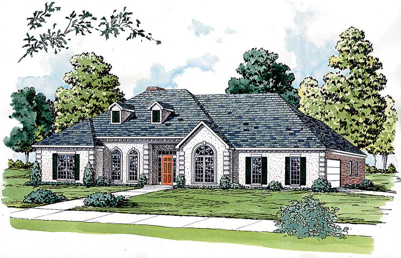 Striking Ranch Home Perfect For Sunbelt Region