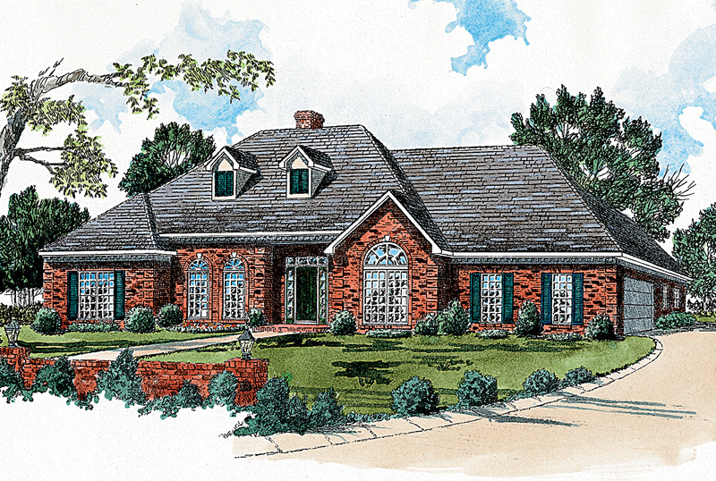 Ranch Home With Pleasing Brick Exterior