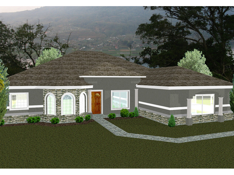 seabridge stucco ranch home plan 093d 0003 house plans