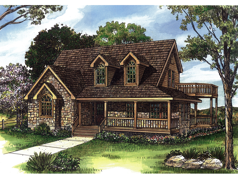 Henry Vacation Waterfront Home Plan 095d 0017 House