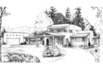Two-Story Adobe/Southwestern Style Home