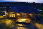 Ranch House Plan Rear Photo 01 - 095D-0022 | House Plans and More
