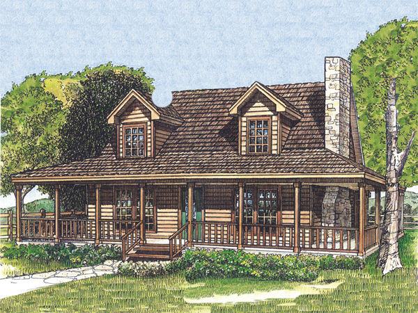 laneview rustic country home plan 095d 0035 house plans and more - Rustic Country House Plans