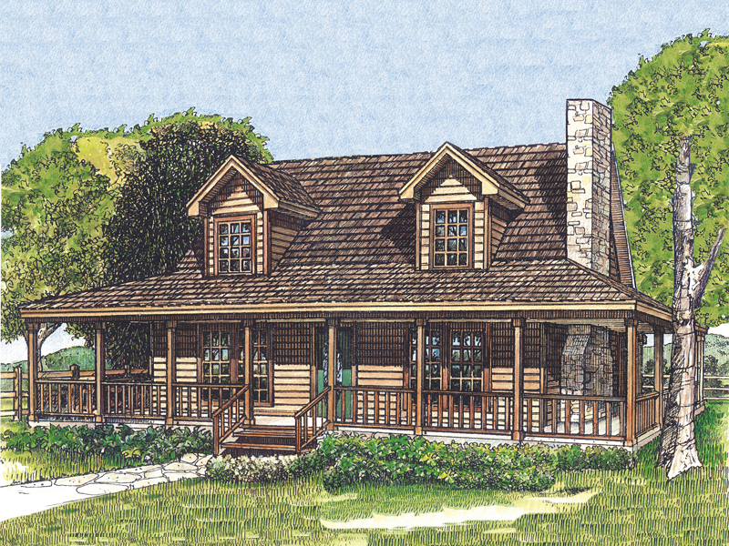 Laneview rustic country home plan 095d 0035 house plans for Rustic country house plans
