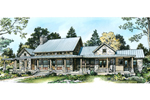 European House Plan Color Image of House - 095D-0046 | House Plans and More