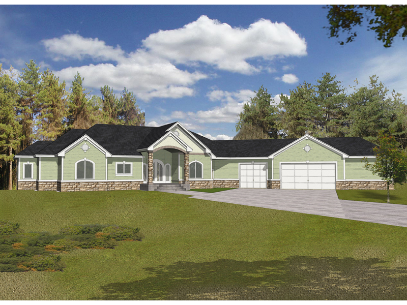 Eiseman Luxury Ranch Home Plan 096d 0049 House Plans And