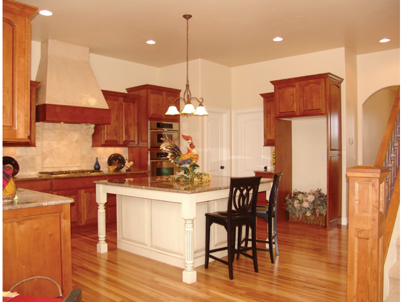 European House Plan Kitchen Photo 02 101D-0001