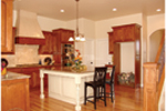 European House Plan Kitchen Photo 02 - 101D-0001 | House Plans and More