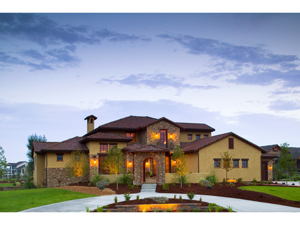 Viscaya Luxury Italian Home Plan 101D 0019 House Plans And More