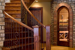 Santa Fe House Plan Stairs Photo - 101D-0019 | House Plans and More