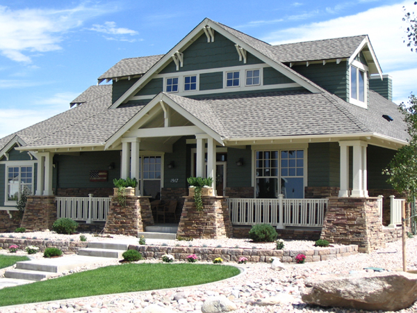 Femme osage craftsman home plan 101d 0020 house plans for Large craftsman style home plans