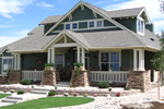 Bungalow House Plan Front of Home - 101D-0020 | House Plans and More