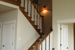 European House Plan Stairs Photo - 101D-0020 | House Plans and More