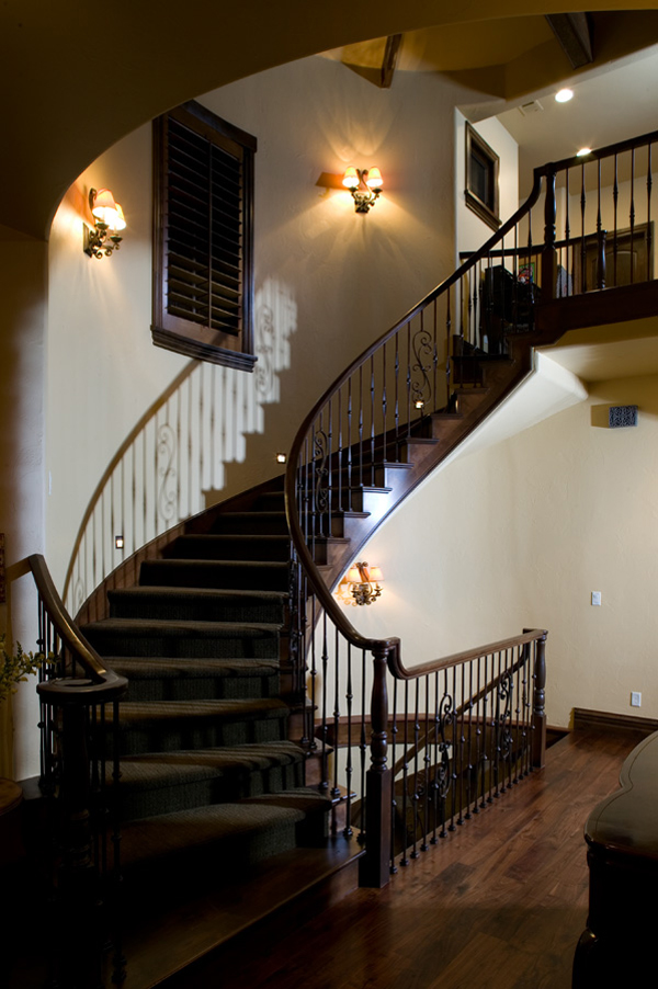 Country French Home Plan Stairs Photo 101D-0021