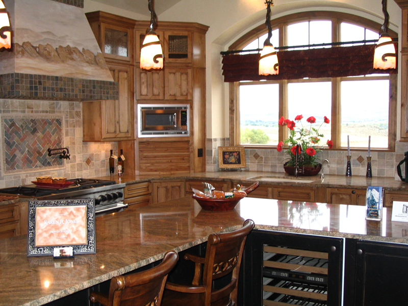 Mountain Home Plan Kitchen Photo 02 101S-0001
