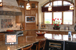 Mountain Home Plan Kitchen Photo 02 - 101S-0001 | House Plans and More