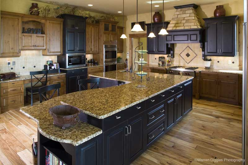 Rustic Home Plan Kitchen Photo 02 101S-0003