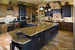 Mountain Home Plan Kitchen Photo 02 - 101S-0003 | House Plans and More