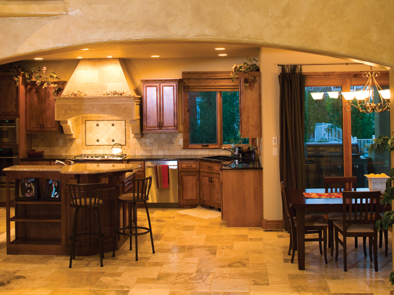 Traditional House Plan Kitchen Photo 01 101S-0004