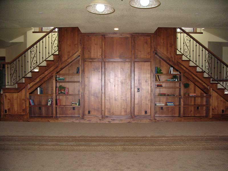Rustic Home Plan Basement Photo 01 101S-0005