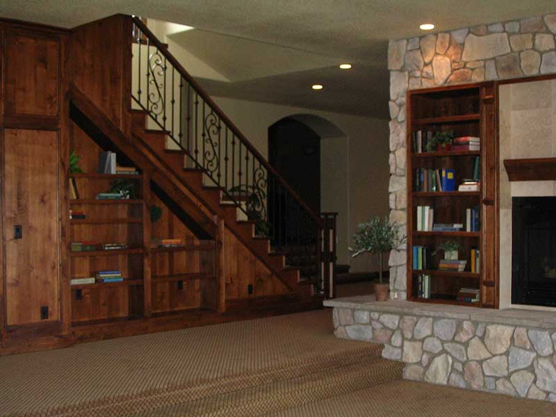 Mountain Home Plan Basement Photo 02 101S-0005