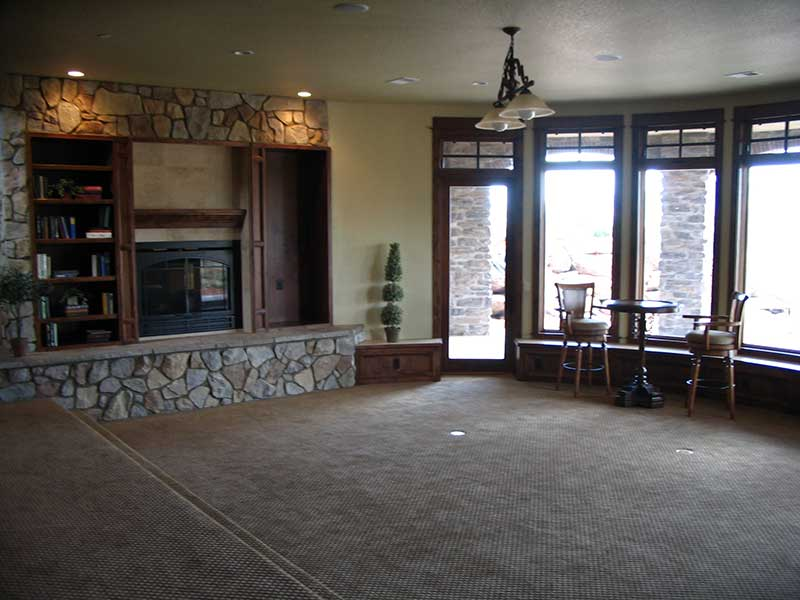 Mountain Home Plan Basement Photo 03 101S-0005