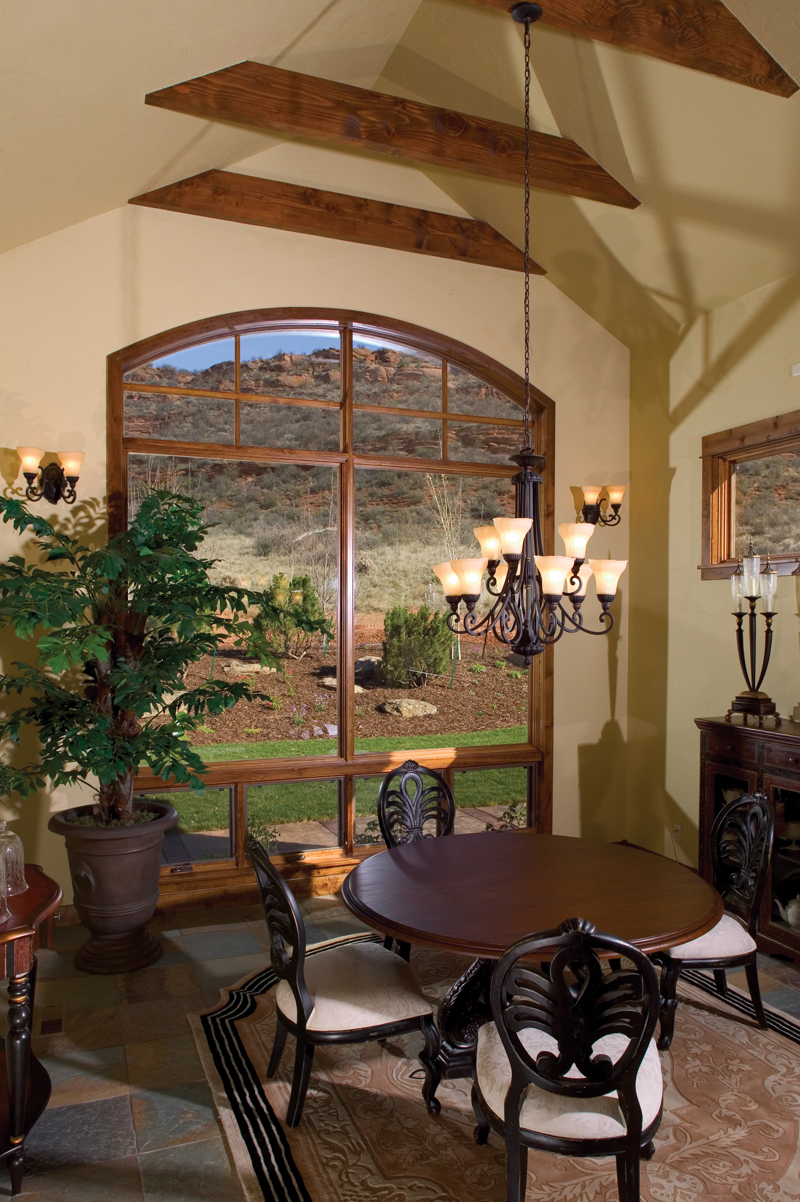 Rustic Home Plan Dining Room Photo 01 101S-0005