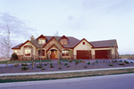 Country French Home Plan Front of Home - 101S-0006 | House Plans and More