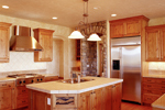 European House Plan Kitchen Photo 01 - 101S-0006 | House Plans and More